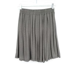 Brandy Melville Pleated Mini Skirt